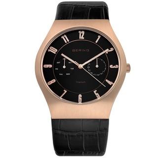 Bering Time Men's Slim Watch