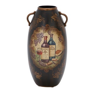 Unique Home Accents 15-inch Ceramic Vase