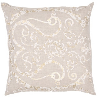 Handmade Linen Throw Pillow