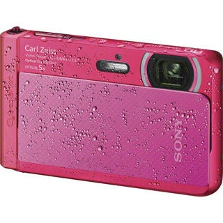 Sony Cyber Shot DSC-TX30 Waterproof 18.2MP Pink Digital Camera