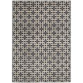 kathy ireland Home Hollywood Shimmer Steel Rug (7'9 x 10'10)