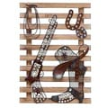 Wood/ Metal Cowboy Wall Decor