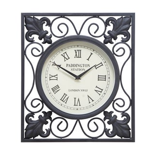 Economical Metal Outdoor Wall Clock