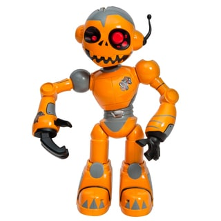 WowWee Orange Robo Zombie