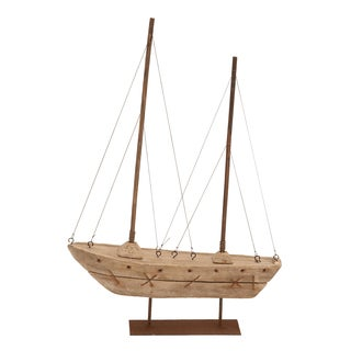 Wood Boat Nautical Maritime Decor