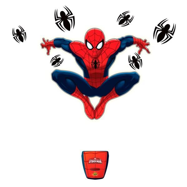 Uncle Milton Wild Walls Spiderman Amazing Web Attack 12177640