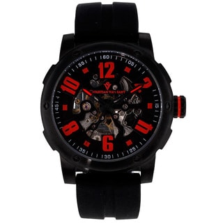 Christian Van Sant Men's Skeleton Watch