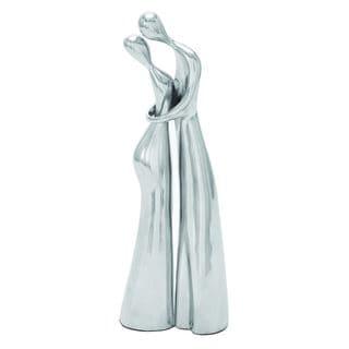 Contemporary Style Aluminum Dancing Sculpture (Set of 2)