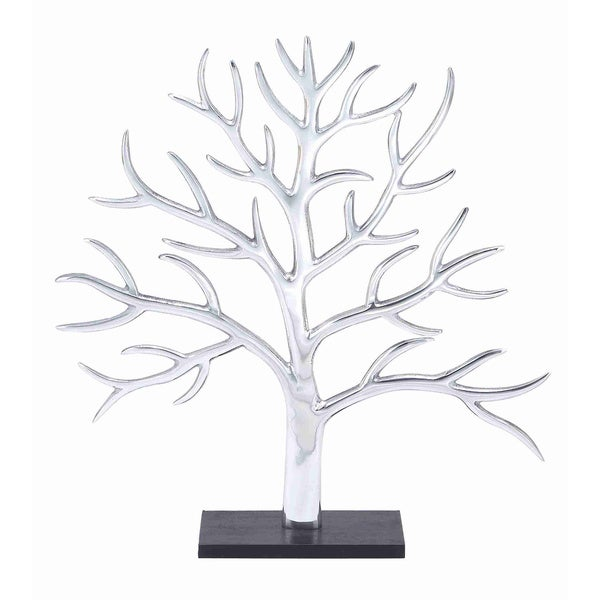 Aluminium Decor Tree with Exquisite Silver Finish