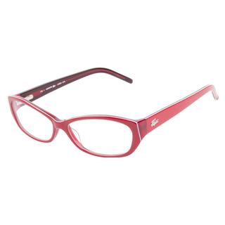 Lacoste L2625 615 Red Prescription Eyeglasses