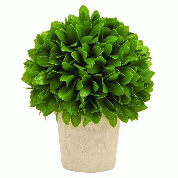 Green Potted Leaf Ball
