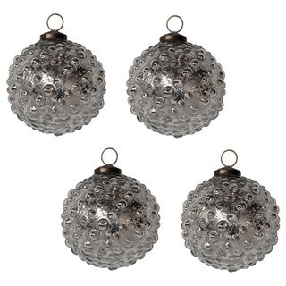 Hobnail Ornament (Set of 4)