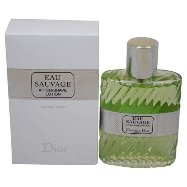 Christian Dior 'Eau Sauvage' Men's 3.4-ounce After Shave Lotion Spray