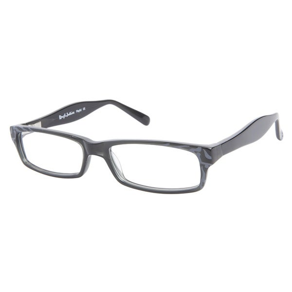 Rough Justice Playful Dusty Grey Prescription Eyeglasses
