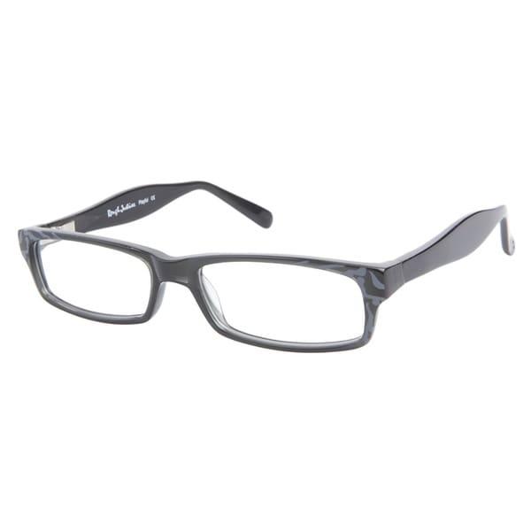 Rough Justice Playful Dusty Grey Prescription Eyeglasses