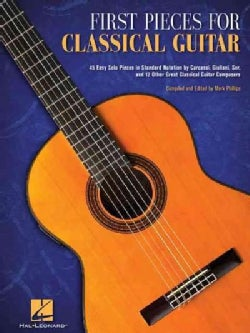 First Pieces for Classical Guitar (Paperback)