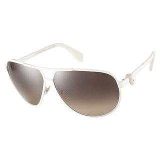 Alexander McQueen AMQ4156S 5NA ED Cream Sunglasses