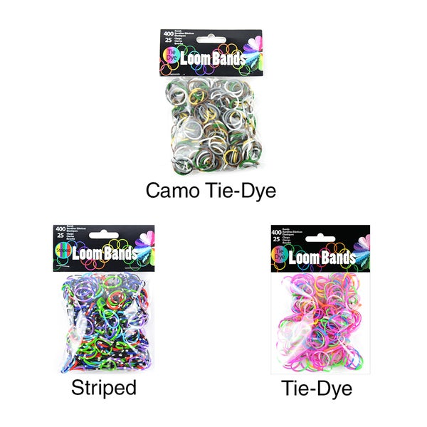 Loom Bands Assortment 400/Pkg