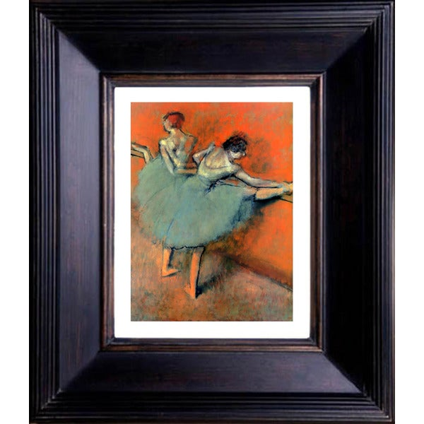 Edgar Degas 'Dancers at the Barre' Gallery Framed