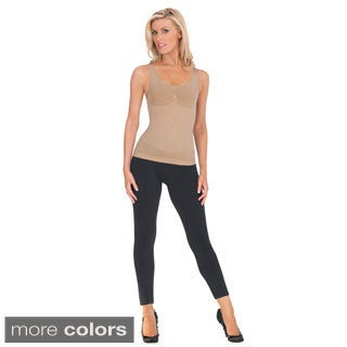 Julie France Leger Seamless Compression Tank Top Shaper