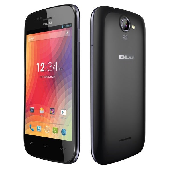 BLU Advance 4.0 A270a Unlocked GSM Dual-SIM Black Phone