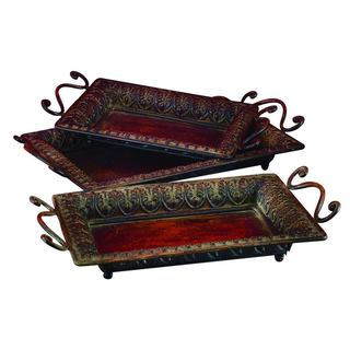 Metal Trays (Set of 3)