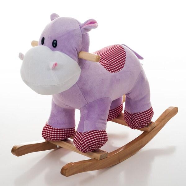Happy Trails Henrietta the Rocking Hippo
