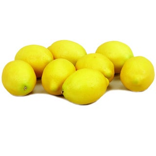 Faux Lemon Bag (Set of 8)
