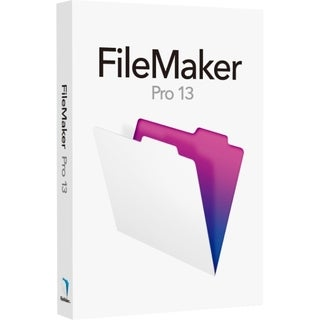 Filemaker Pro v.13.0 - Complete Product - 1 User