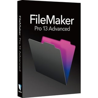 Filemaker Pro v.13.0 Advanced - Complete Product - 1 User