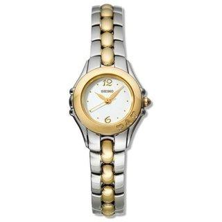 Seiko Women's Diamond Accent Stainless Steel Two-Tone Watch