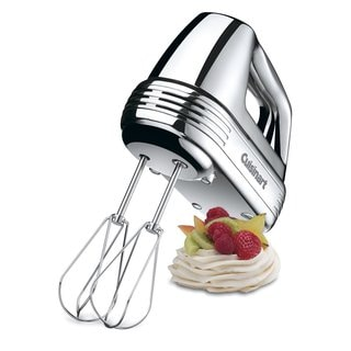 Cuisinart Power Advantage 7-Speed Hand Mixer - Chrome (Refurbished)