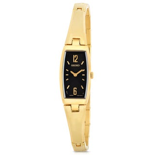 Seiko Women's Gold-Tone Stainless Steel Watch