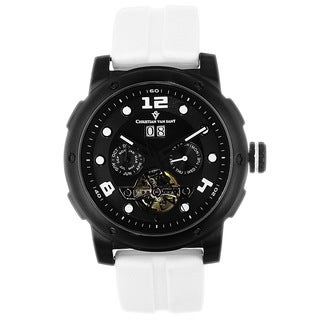 Christian Van Sant Men's Skull Watch