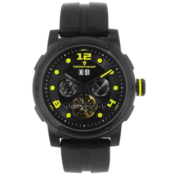 Christian Van Sant Men's Skull Automatic Watch