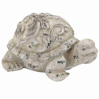 Hand Crafted Garden Turtle with Simple Design