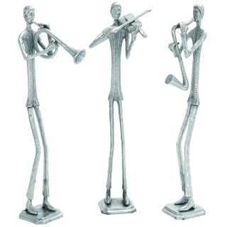 Sophisticated and Stylish Aluminum Sculpture - Set of 3