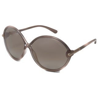 Tom Ford Women's TF0225 Rita Oval Sunglasses