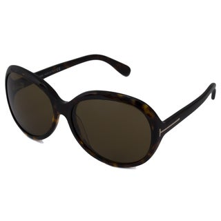Tom Ford Women's TF0217 Rectangular Sunglasses