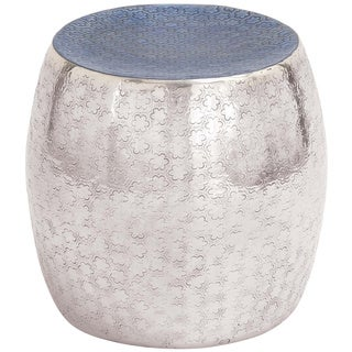 Cylindrical Shaped Metal Enamel Stool