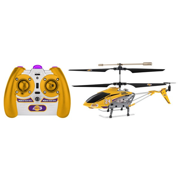 NBA LA Lakers Kobe Bryant Metal 3.5CH RC Helicopter
