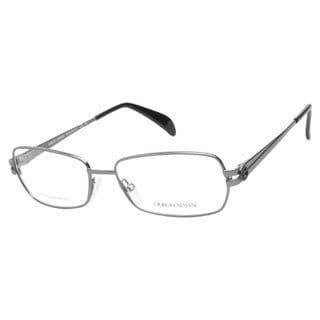 Giorgio Armani GA797 R80 Semi-matte Dark Ruthenium Prescription Eyeglasses