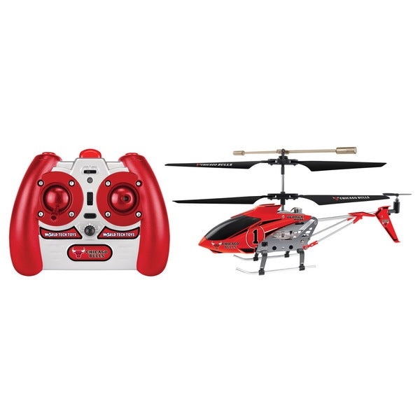 NBA Chicago Bulls Derrick Rose Edition Metal 3.5CH RC Helicopter