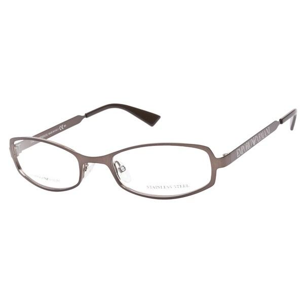 Emporio Armani 9727 H9I Shiny Brown Prescription Eyeglasses