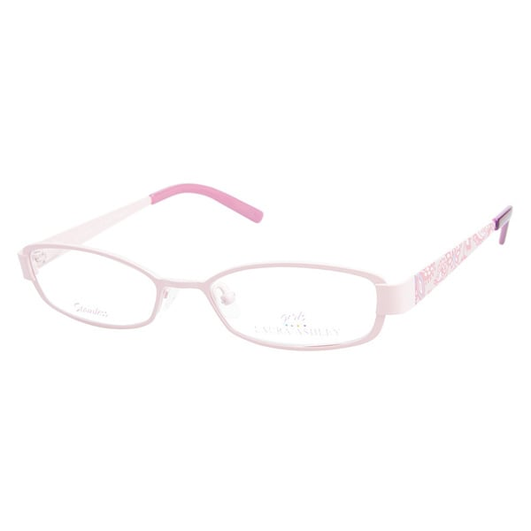 Laura Ashley Girls Pretty Please Pink Prescription Eyeglasses