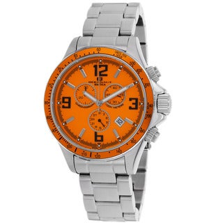 Oceanaut Men's Baltica Orange/ Silver Watch