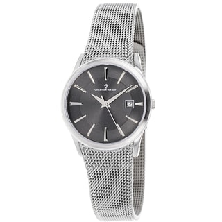 Christian Van Sant Women's Mesh-bracelet Skin Watch