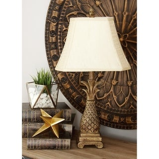 Polystone Table Lamp