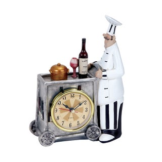Chef Wall Clock with Attractive Colors