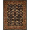 Safavieh Handmade Persian Legend Navy/ Rust Wool Rug (8'3 x 11')